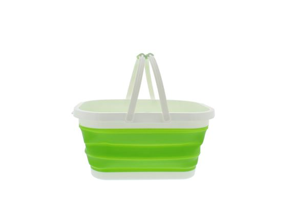 PRIMA Collapsible Rectangular Bucket - Green product image