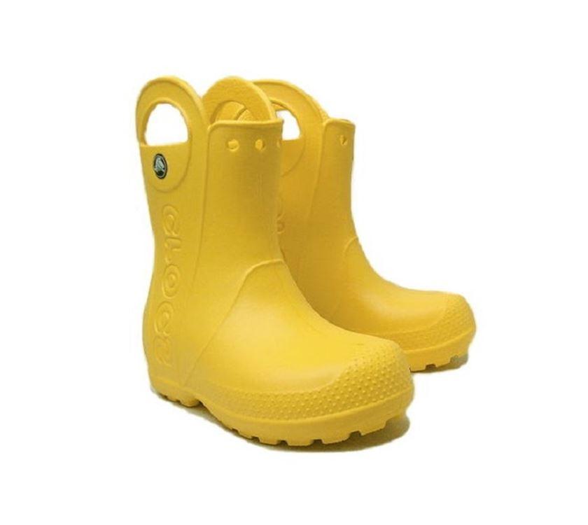 c6f8f8564499 Crocs Handle It Rain Boot Kids Yellow C13