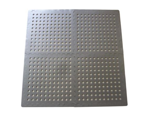 Interlocking Floor Tiles with Edging Strips product image