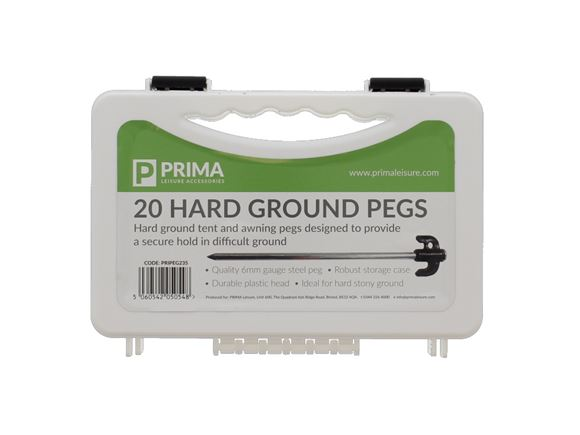PRIMA Hard Ground Tent Pegs product image