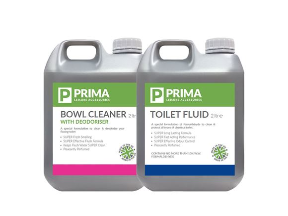 PRIMA Toilet Chemical Fluid - 2L Twin Pack product image