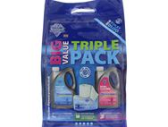 2L Big Value Triple Pack - Toilet Roll & Chemicals