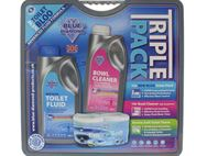 1L Big Value Triple Pack - Toilet Roll & Chemicals