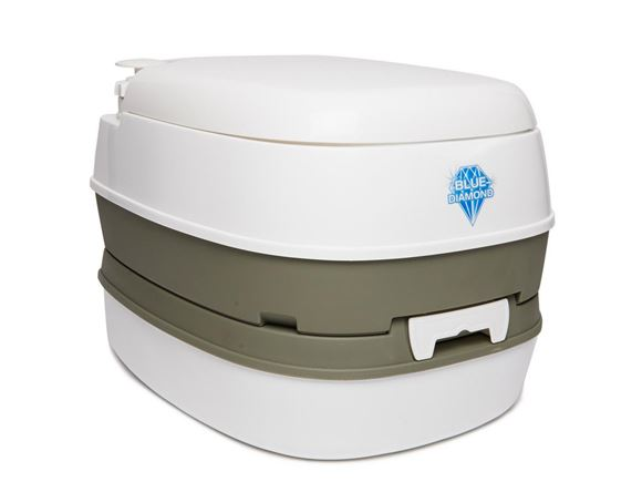 Blue Diamond Portable Flushing Toilet Loo 16L product image