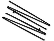 Awning Rear Upright Poles - Steel