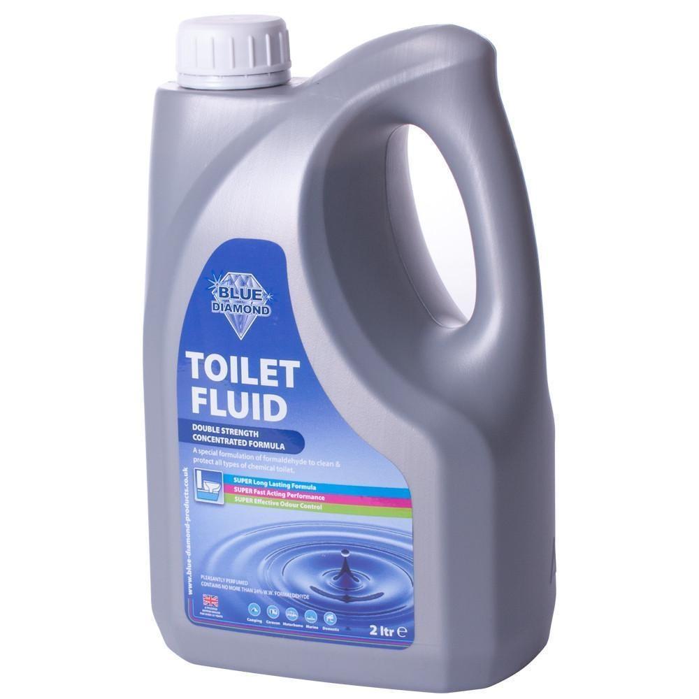 When Nature Calls Blue Diamond Biodegradable Green Toilet Fluid 4 Litres 2Lx2