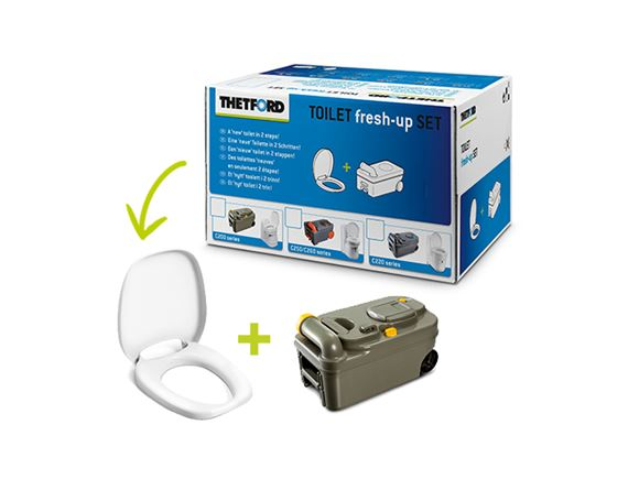 Thetford C200 Toilet Fresh Up Kit product image