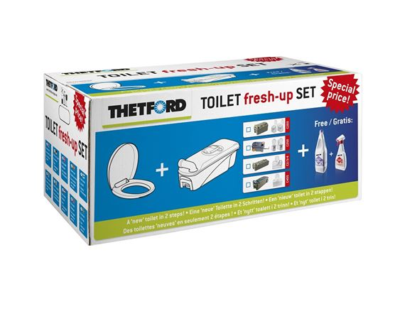 Thetford C2 C3 C4 Toilet Fresh Up Kit R/H product image