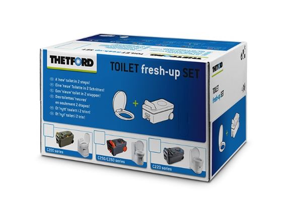 Thetford C250 Toilet Fresh Up Kit product image