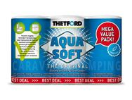 Thetford Aqua Soft Toilet Paper x6 Roll Value Pack