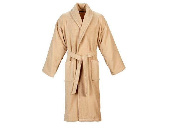 Christy Supreme Velour Bathrobe Size S - Stone product image