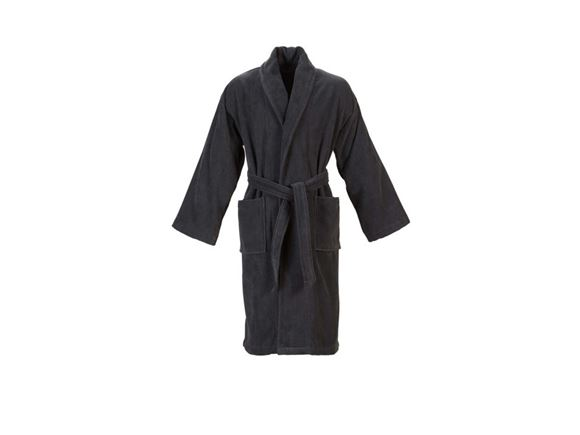 Christy Supreme Velour Bathrobe Size S - Graphite product image