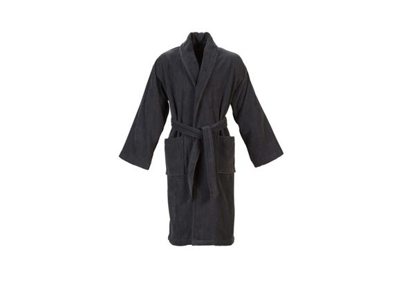 Christy Supreme Velour Bathrobe Size XL - Graphite product image