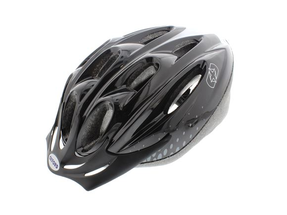 Oxford F15 Cycle Helmet Black/White Medium 54-58cm product image