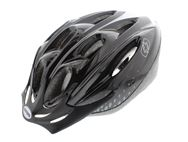 Oxford F15 Cycle Helmet Black/White Large 58-61cm