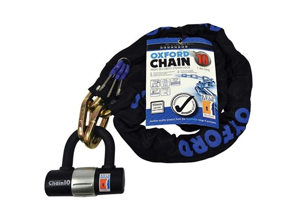 Oxford Cycle Square Chain Link 10mm w/ Shackle product image