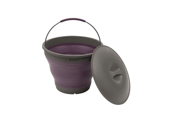 Outwell Collaps Bucket with Lid Rich Plum product image