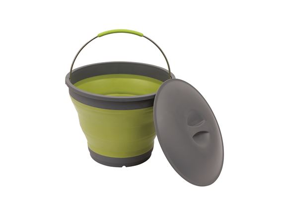 Outwell Collaps Bucket with Lid Lime Green product image