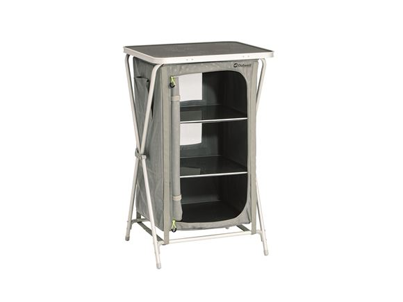 Outwell Domingo Three Shelf Folding Storage Unit product image