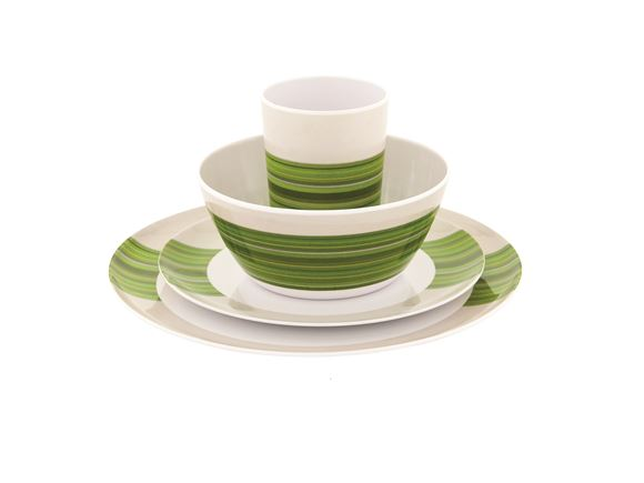 Outwell Blossom Picnic Set 4 Persons Pogonia Green product image
