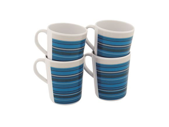 Outwell Blossom Melamine Mug Set Columbine Blue product image