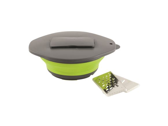 Outwell Collaps Bowl & Lid with Grater Lime Green product image