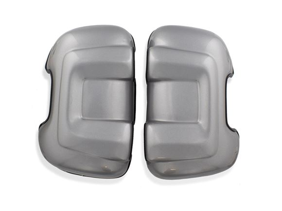 Motorhome Long Arm Mirror Protectors Silver (Pair) product image