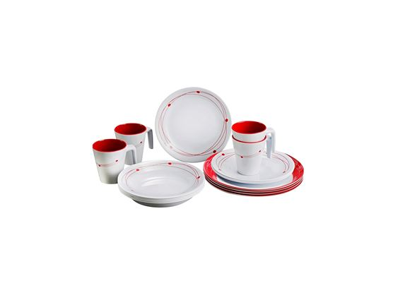Brunner Cosmic Melamine 16pcs Dinner Set product image