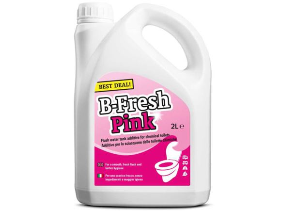 B-Fresh Pink Toilet Rinse 2 Ltr product image