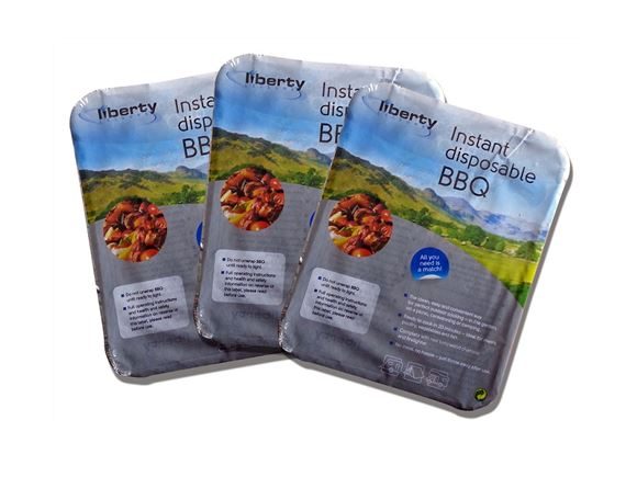 Disposable BBQ x3 product image