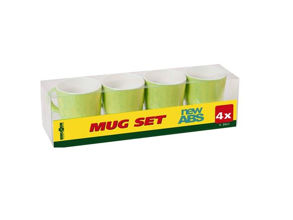 Brunner Space Lime Green ABS Mug Set product image