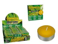 Set of 18 Citronella Tealight Candles