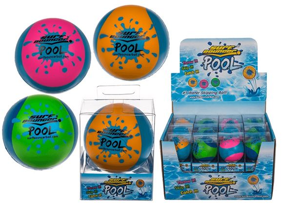 Surf Bouncer Pool Soft Bouncing Ball - Assorted product image