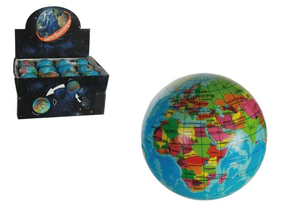 Soft Bouncing Ball - Earth Design product image