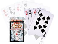 XL Playing Cards 14x9.5cm