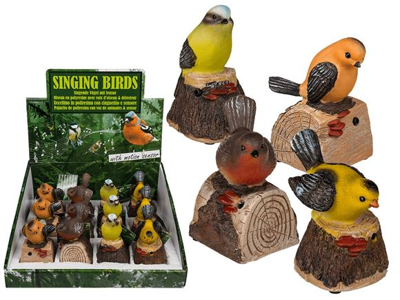 Motion Sensitive Bird w/ Sounds (incl. Batteries) product image