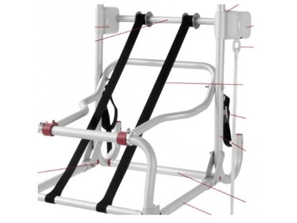 Fiamma Carry Bike Lift 77 Straps (Pair) product image