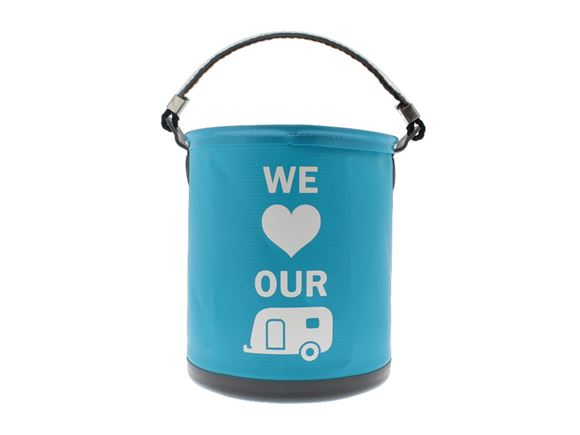 Colapz Bucket - We Love Our Caravan - Blue product image