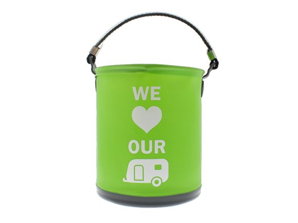 Colapz Bucket - We Love Our Caravan - Green product image