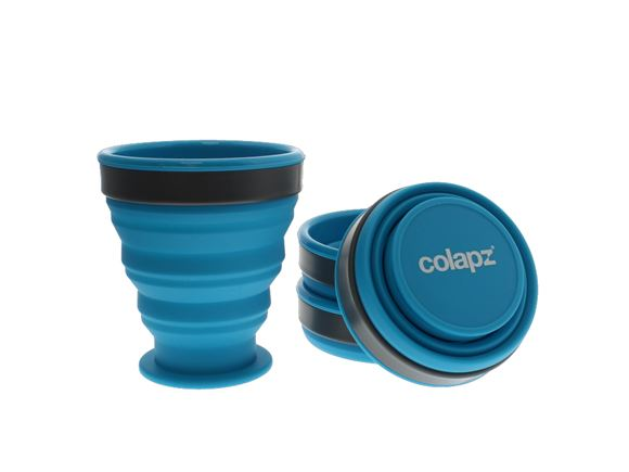 Colapz Silicone Collapsible Cup Set - Blue (x4) product image