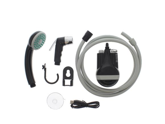Colapz Rechargable Camping Shower and Case product image
