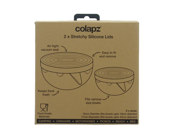Colapz Stretchy Silicone Lids for Bowls product image