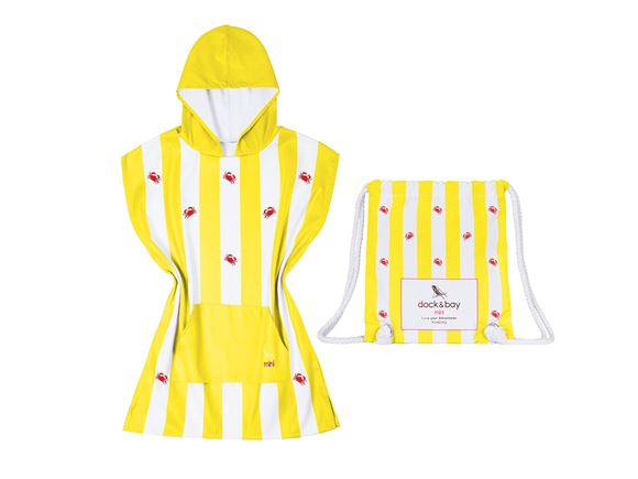 Read more about Dock & Bay Poncho Crab Yellow - Small product image