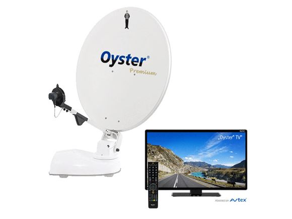 "Oyster V 85cm Premium 21.5"" TV auto skew - Single product image"