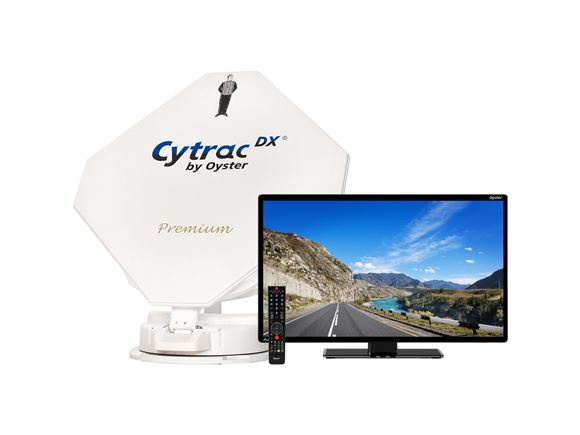 "Oyster Cytrac DX Premium 19"" TV - Twin product image"