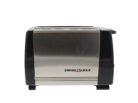 Swiss Luxx Low Wattage Caravan Toaster - S/Steel product image