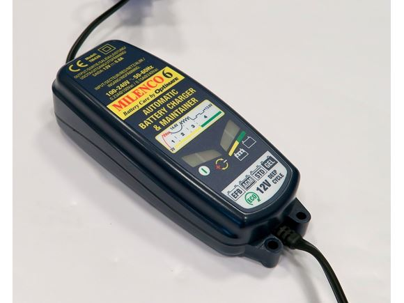 Milenco Optimate 6 Battery Charger / Maintainer product image