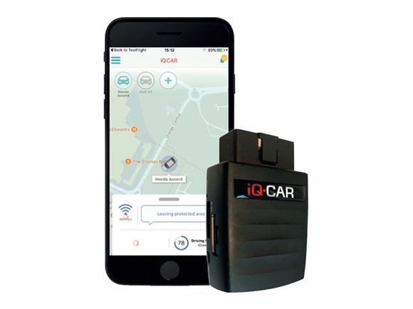 iQ Car - WiFi Hotspot and Journey Tracker product image