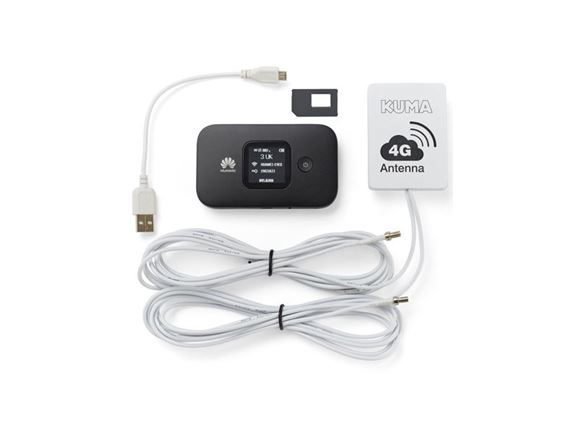 Read more about KUMA Caravan & Motorhome 4G Mobile WiFi Kit product image