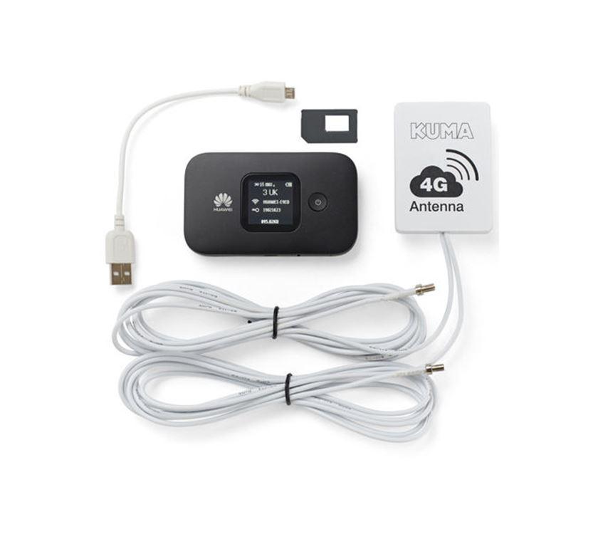 KUMA Caravan & Motorhome 4G Mobile WiFi Kit | Caravan and